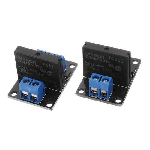 1 Channel DC 24V  Relay Module Solid State High and low Level Trigger For Arduino 240V2A