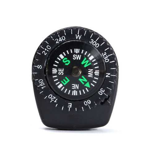 Mini Compass Clip Type Filling Liquid Compass Portable For Outdoor Camping Emergency Tool