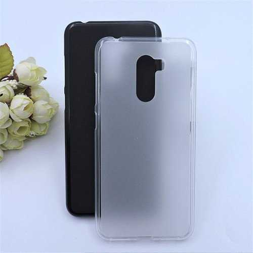 Bakeey™ Matte Shockproof Soft TPU Back Cover Protective Case for Xiaomi Pocophone F1