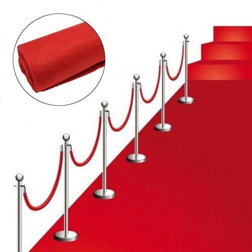 80 x 300cm Red Carpet Wedding Runners Aisle Floor Rug Hollywood Party Decorations