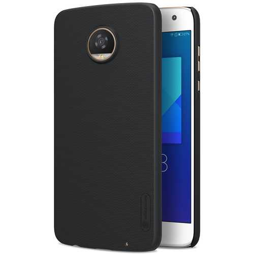 NILLKIN Frosted Shockproof Anti-slip Back Cover Protective Case for Motorola Moto Z2 Play