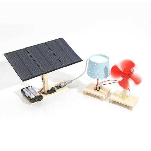 Solar Powered System Mini Power Stations With Lamp And Fan