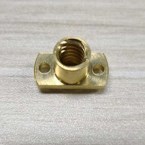 Copper Nut for T8 Lead Screw 8mm Diameter 4mm Lead CNC Router Engraver Parts Accessories