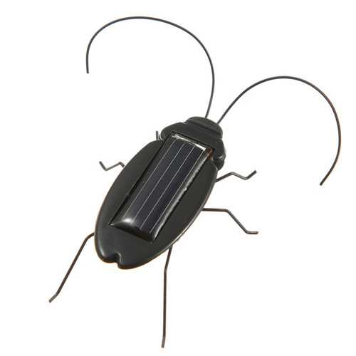 NEW Educational Solar powered Cockroach Toy Gadget Gift