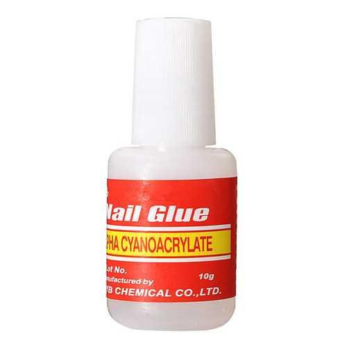 Professional False Nail Art Glitter Glue Manicure Tool