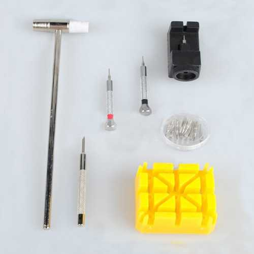 7 Pieces Watch Repair Tool Kit Set Pin Strap Remover