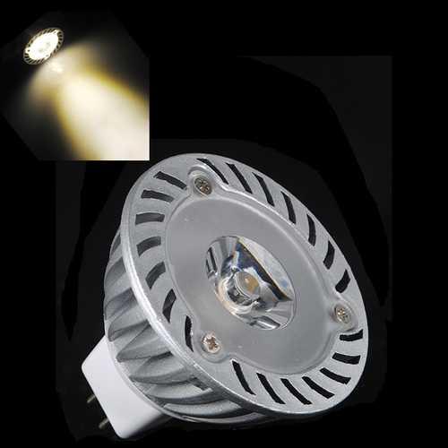 MR16 3W 200-240LM Warm White Energy Saving LED Spot Lightt Bulbs 12V