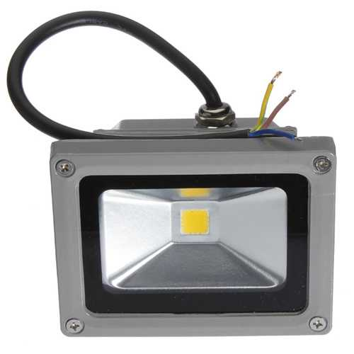 10W Warm White LED Flood Light Outdoor Waterproof 110-220V
