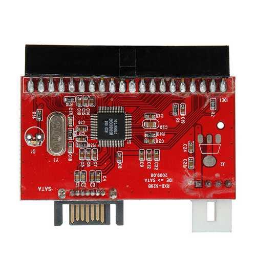3.5 IDE HDD to SATA 100/133 Serial ATA Converter Adapter +Cable