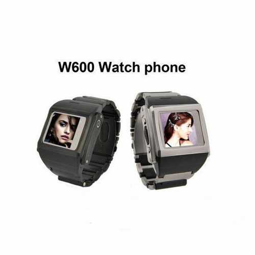 1.5 inch W600 Unlocked Watch Tough Screenn Cell Phone Mobile Quad Band with Camera Bluetooth