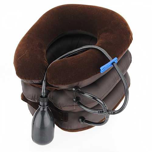 Air Cervical Neck Traction Soft Brace for Headache Head Back Shoulder Neck Pain