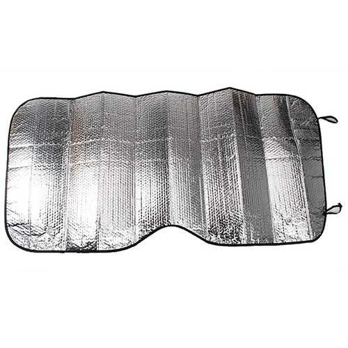 Auto Car Wind Shield Front Window Visor Cover Sunshade Silver Foil