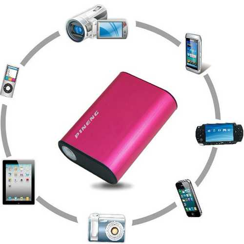 PSP With Capacity Lithium Battery 5000mAh Power Charge For iPad iPhone