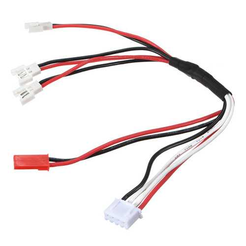 Balance Charging Cable For Walkera Wltoys Hubsan X4 Eachine H8
