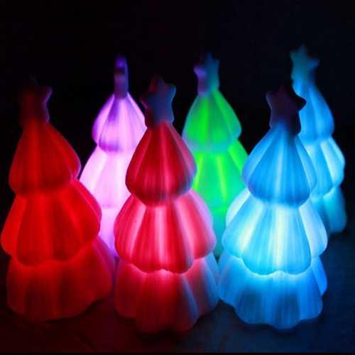 Christmas Small Gift Colorful Christmas Tree Small Night Light Lamps