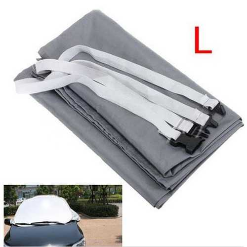 Car Windscreen Snow Ice Sun Frost Shield Dust Protector Cover L