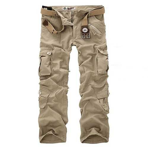 ens Multi Pocket Military Cargo Pants