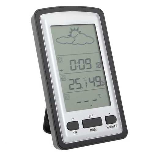 Indoor Outdoor Wireless Thermometer Gauge Weather Station KG218