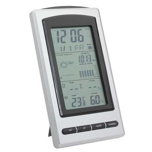 Auto Indoor Outdoor Wireless Weather Station Thermometer  Hygrometer