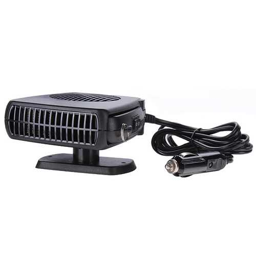 2 in 1 Auto Car Dryer Heater Cooler Fan Demister Defroster Hot Cold