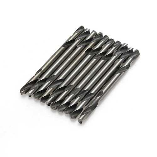 10PCS Double Ended HSS Stub Metal Drill Bits End Set Stell Tools