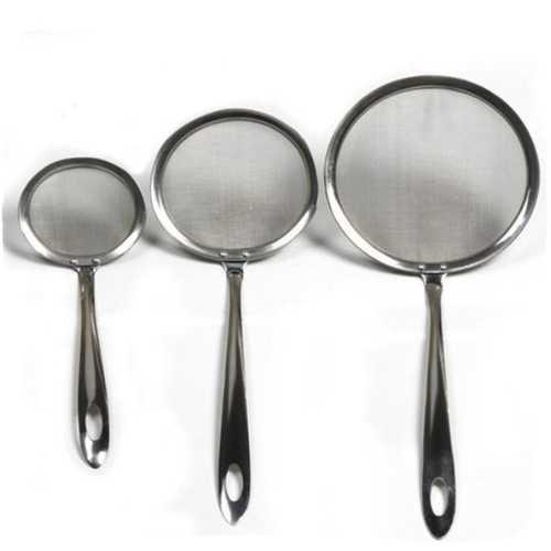 Stainless Steel Oil Dipper Colander Spoon Oil Filter Spoon Oil Strainer Cooking Tool