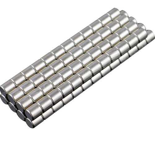100 Piece 3 x 3mm NdFeB Neodymium Magnet Circular Cylinder DIY Set