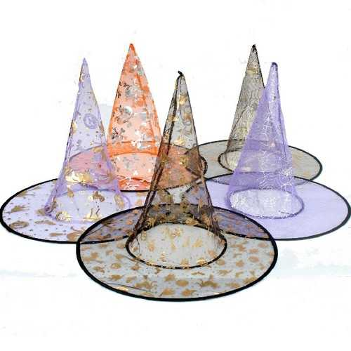 Halloween Costume Party Supplies Single Layer Wizard Hat