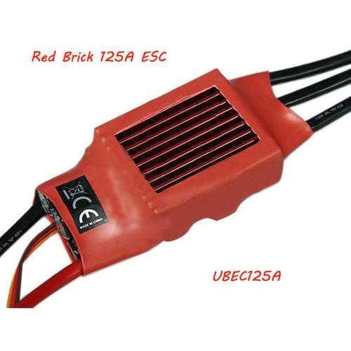 Red Brick 125A ESC Brushless ESC BEC:5V5A UBEC125A
