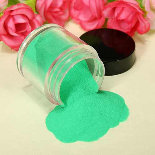 18 Color Acrylic UV Powder Dust Glitter Polish Nail Art Kit Set
