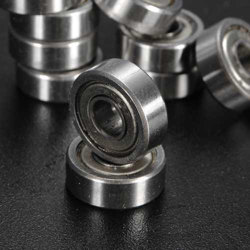 10pcs 605-ZZ 5x14x5mm Deep Groove Ball Bearings Miniature Ball Bearing