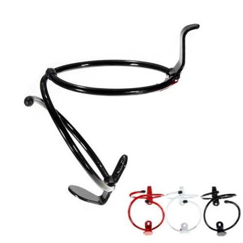 Bike Bicycle Aluminum Alloy S Shaped Water Bottle Cage Holder