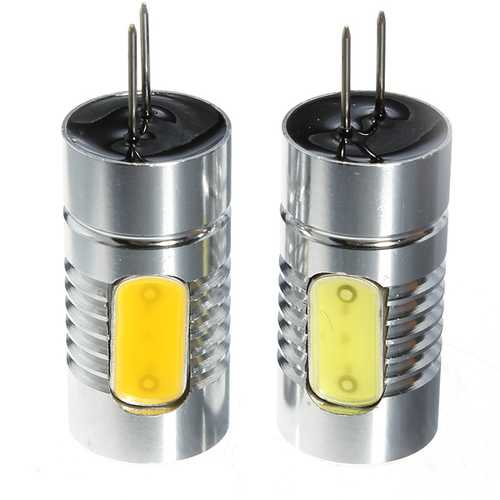 1Pcs G4 1.5W COB LED Car RV Boat Bulb Lamp Warm/Cool White Light