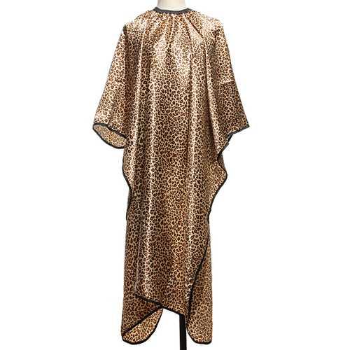 Leopard Pattern Salon Hairdressing Nonstick Hair Cape Haircut Cloth