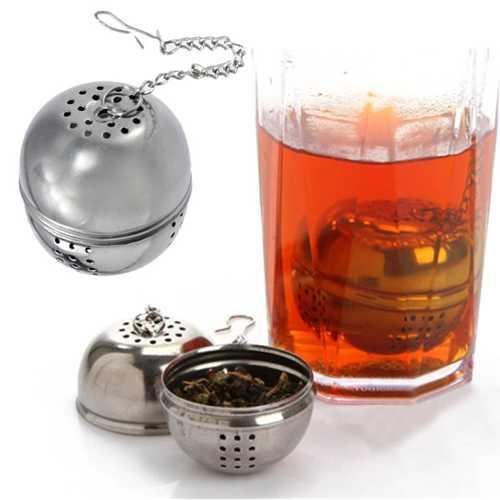 Round Stainless Steel Tea Filter