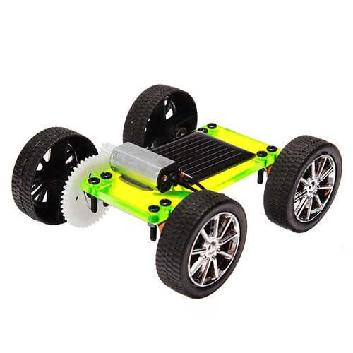 Solar Power Toy Car Educational Toys Special Edition Assembled Model