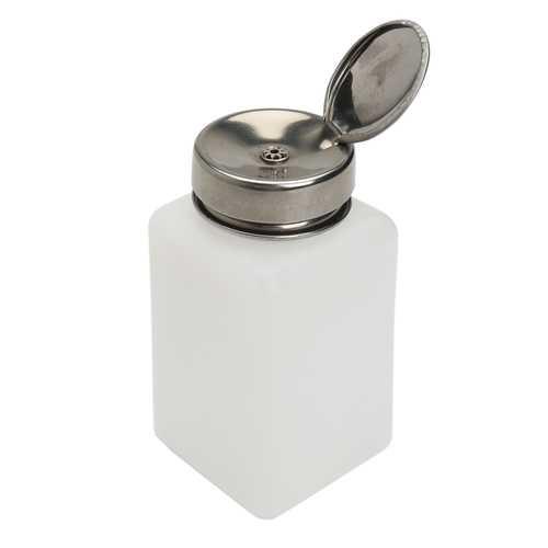 200ml Empty Nail Polish Remover Liquid Press Pump Dispenser Bottle