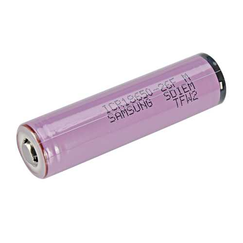 1pcs 3.7V ICR18650-26JM 2600mah Button Top Protected 18650 Li-ion Battery