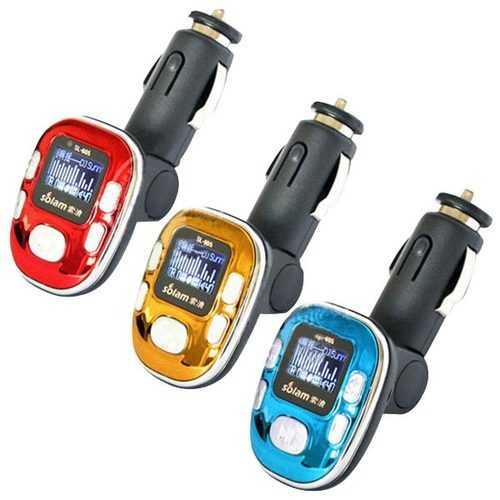Car FM Transmitter MP3 Media Player SL-605 12V Cigarette Lighter 2GB