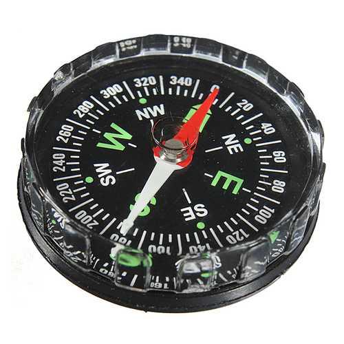 Mini Pocket Liquid Compass Outdoor Survival Navigation Tool