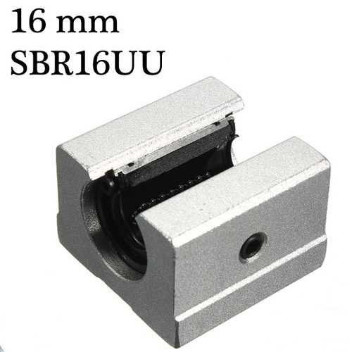 Slide bearing block 16mm SBR16UU Router Motion Bearing Solide Block