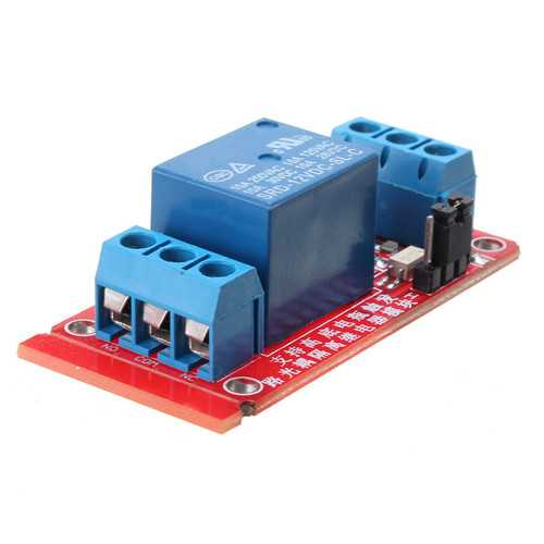1 Channel 12V Level Trigger Optocoupler Relay Module For Arduino