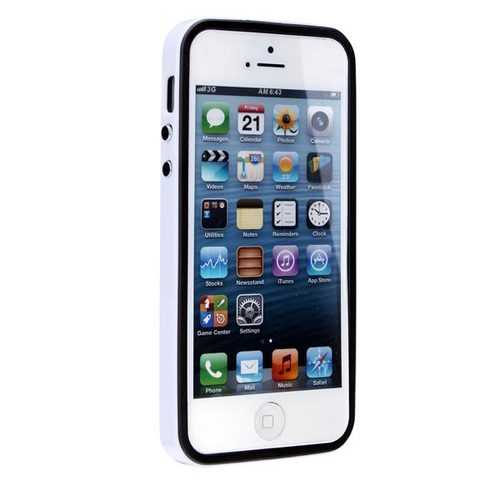Casual Style Simple Design Protector Case Cover For iPhone 5 5S