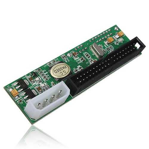 2.5/3.5 Inch 40 Pin SATA to ATA IDE PATA Card Hard Drive Converter Adapter