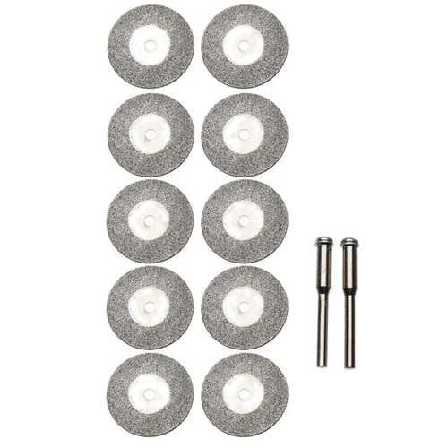 10pcs 25mm Diamond Grinding Wheel Slice Dremel Accessories for Rotary Tools