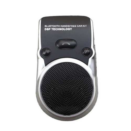 Car Solar Wireless BT Hands Free Speaker Phone with Car Charger