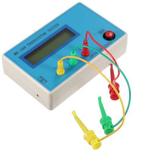 MK-168 Transistor Tester Diode Triode ESR RLC LCR Meter NPN PNP MOS
