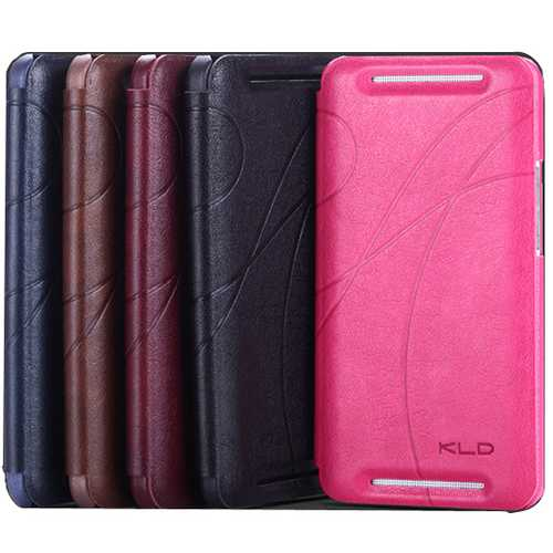 KALAIDENG PU Fibre Protective Leather Case For HTC NEW ONE M7