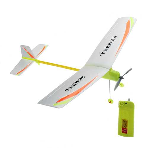 DIY Electricity Airplane Plane Toy Glider Aircraft asy Assembly Gift