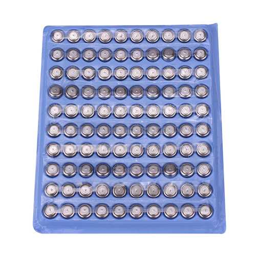 100PCS AG3 LR41 392 SR41 192 1.5V Watch Battery Cell Button Coin Battery For Watch Toys Electronic Calculator